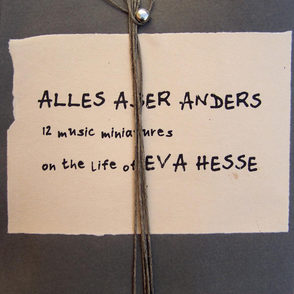 ALLES ABER ANDERS